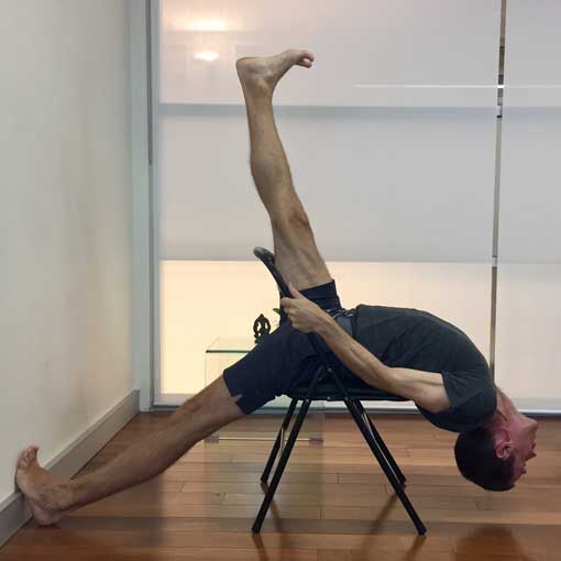 iyengar yoga chair backbends 10 yoga selection