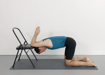 kneeling shoulder poses  weekly intermediate class 55